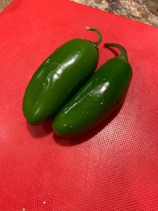 Seed and Chop 1 to 4 Jalapeno Peppers (depending How Hot You Want It)
