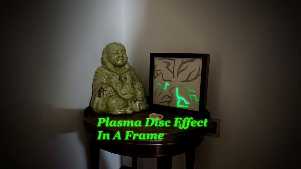 Picture of Plasma Disc Effect in a Frame
