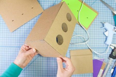 Build the Box: Glue the Box Sides