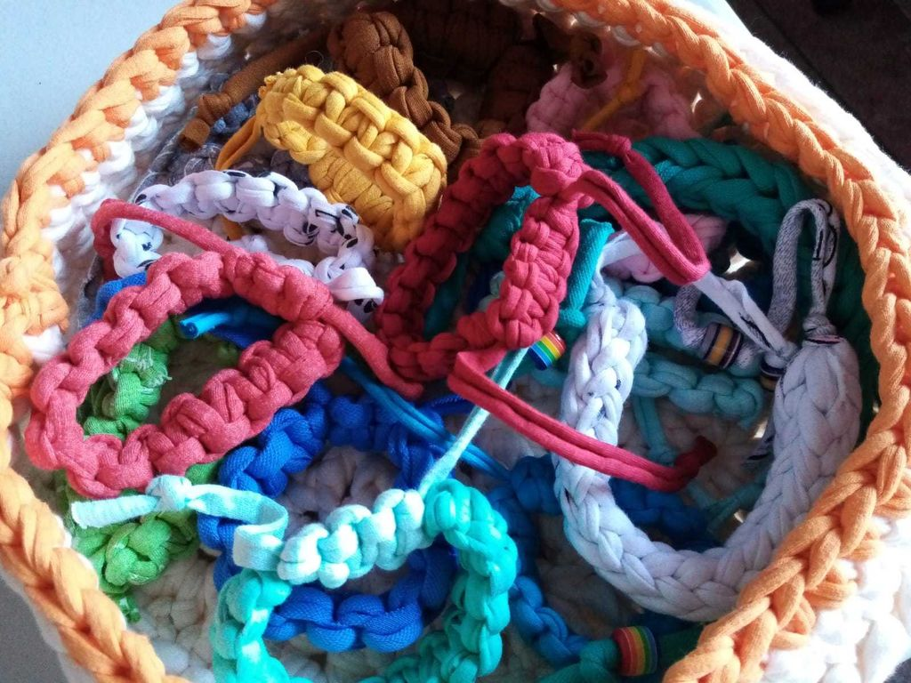 Picture of Recycled Macrame Bracelets