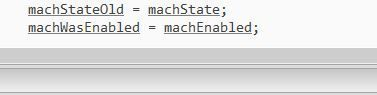 Writing the Input Handling Code in the PLC Script