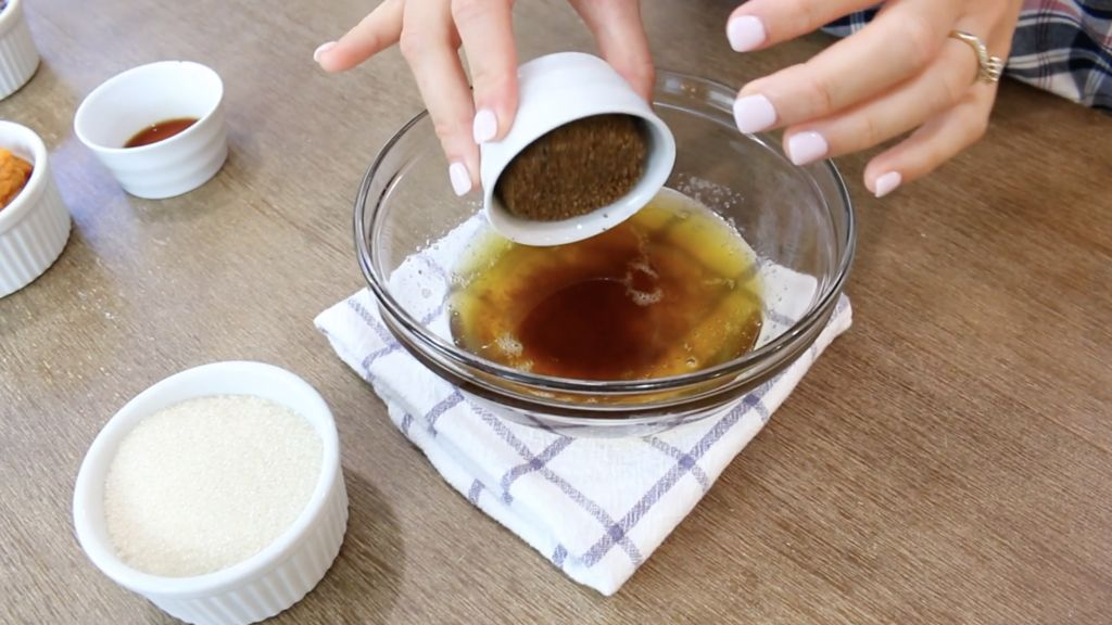 Image of brown butter and add sugars