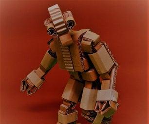 KURT.1 the Articulated Cardboard Robot