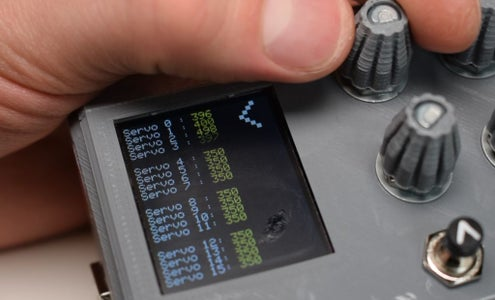 16 Channel Servo Tester With Arduino and 3D Printing