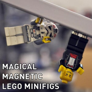 Magic Magnet LEGO Minifigs