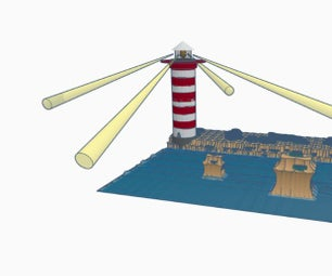 Lighthouse (Distance Learning With Tinkercad Contest; Category: SCENE)