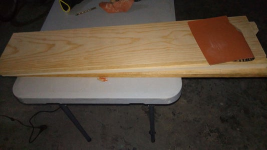 Sanding and Varnished