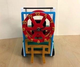 Forklift Clock