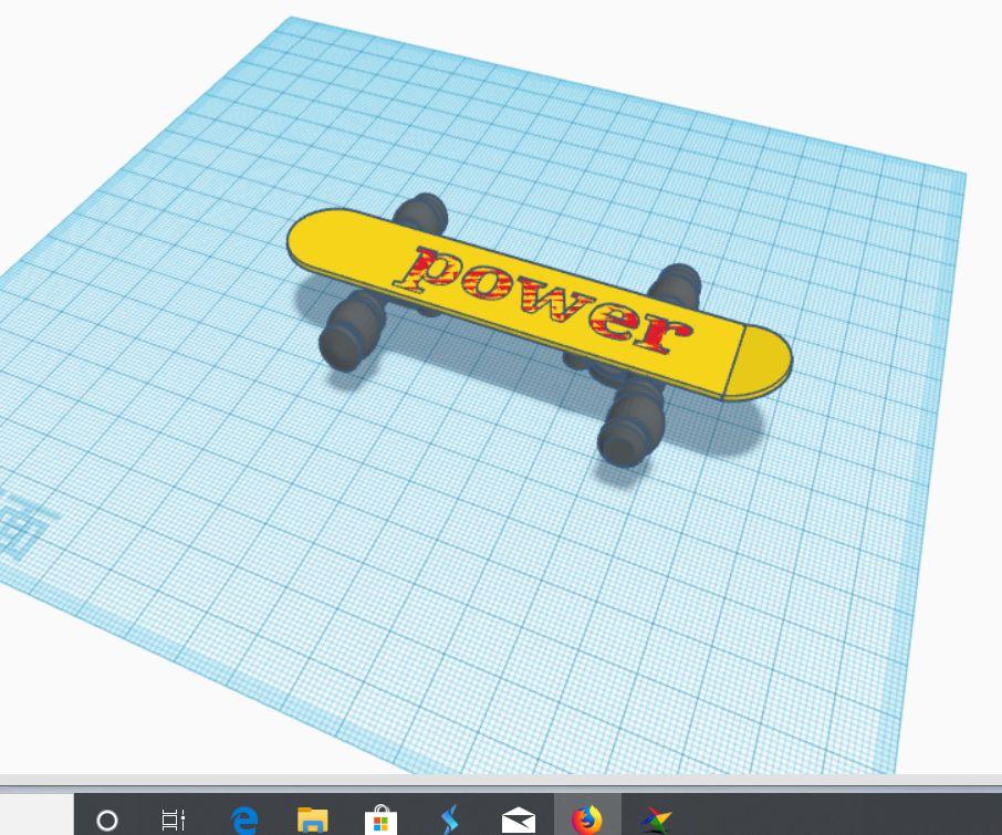 Power Skateboard