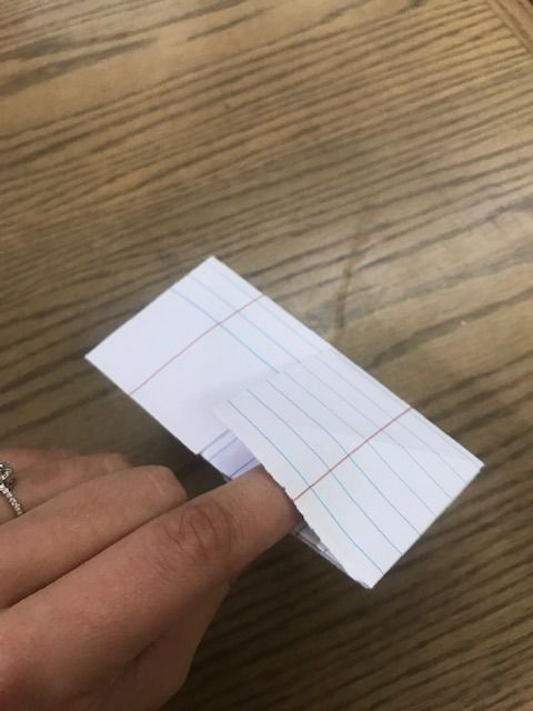 Picture of Left Pointer Finger Placement