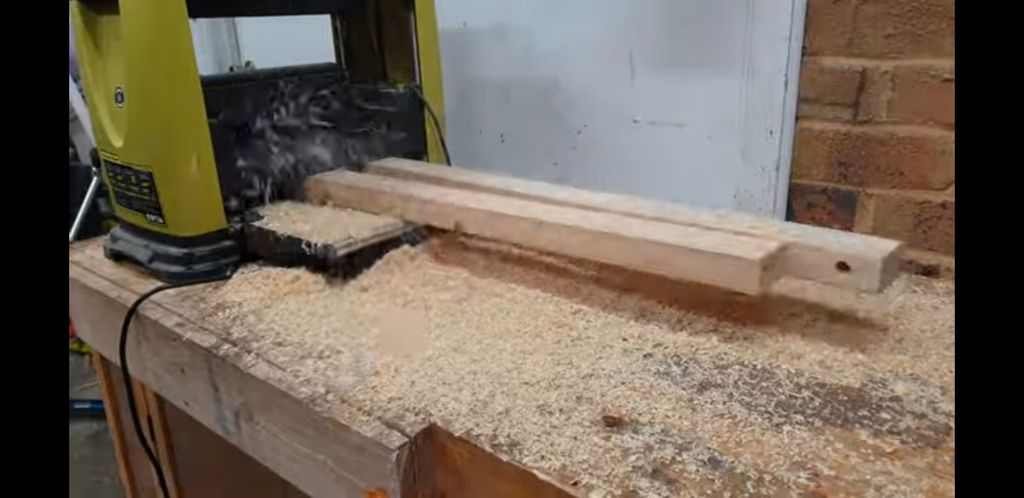 Picture of Make Stretchers for the Bench Sides.