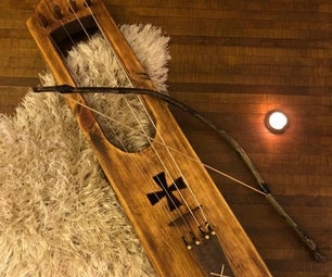 How to Make a Talharpa (Viking Instrument)