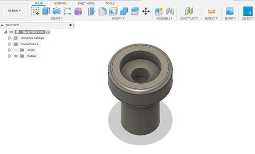 Designing and Printing the Custom Hardware Parts...