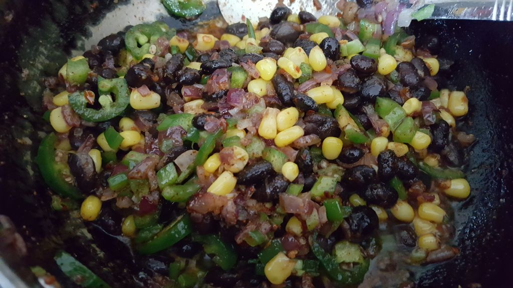 Picture of For Cheesy Mexican Stir Fried Rice;