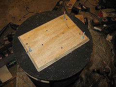 Picture of Creating the Mounting Plate for the Base