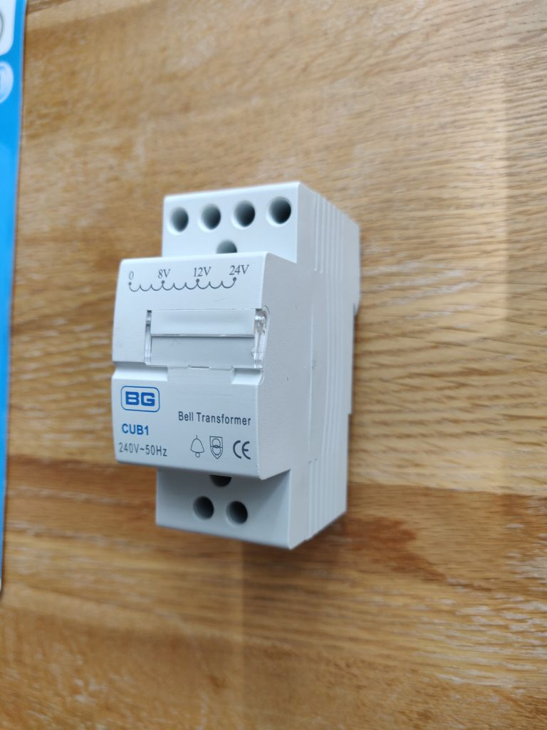 Picture of Nest Hello UK Install With Integrated Transformer