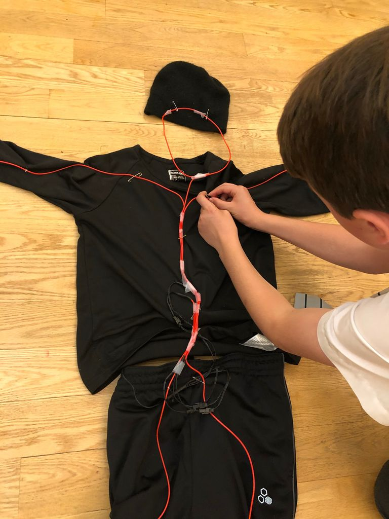 Picture of  Building the Costume