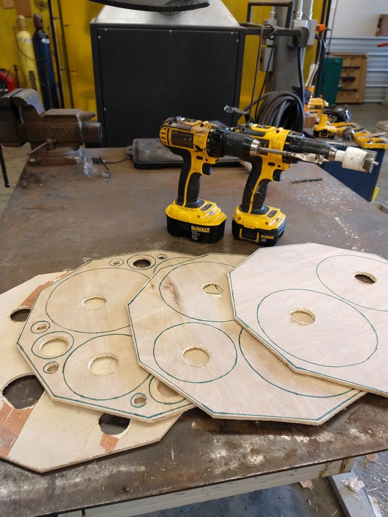 Picture of Cut and Sand Gasket Holes