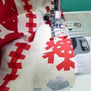 Stitch Drawstring Channel