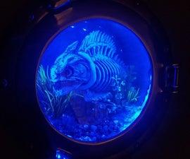 食人鱼灯舷窗
