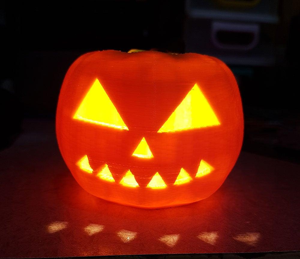 Picture of Halloween Pumpkin Candel Attiny13