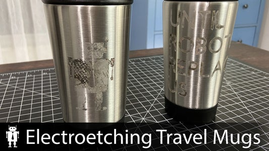 Metal Etching Travel Mugs