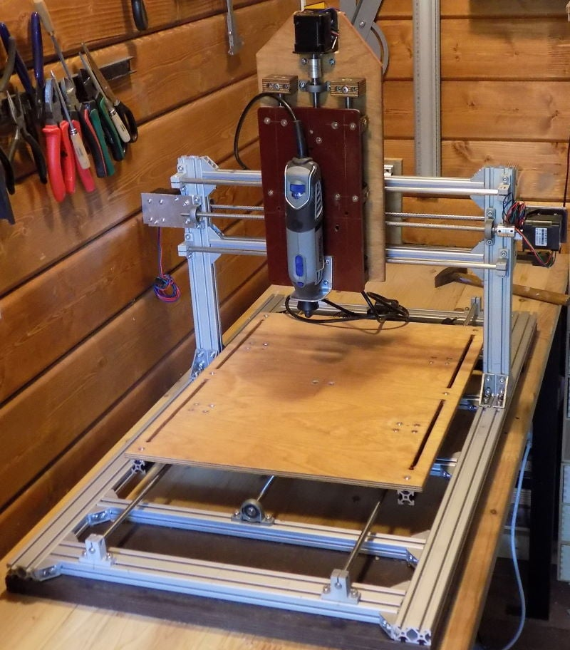 Picture of Design Self-made CNC in Fusion 360