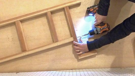 Assemble Main Structure Halves