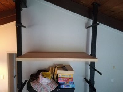 Attach Your Shelves and Load Them Up!