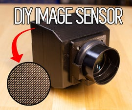 DIY Image Sensor and Digital Camera