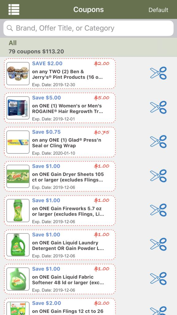 Picture of Review Sales Ad, Clip Some Coupons and Have a Budget