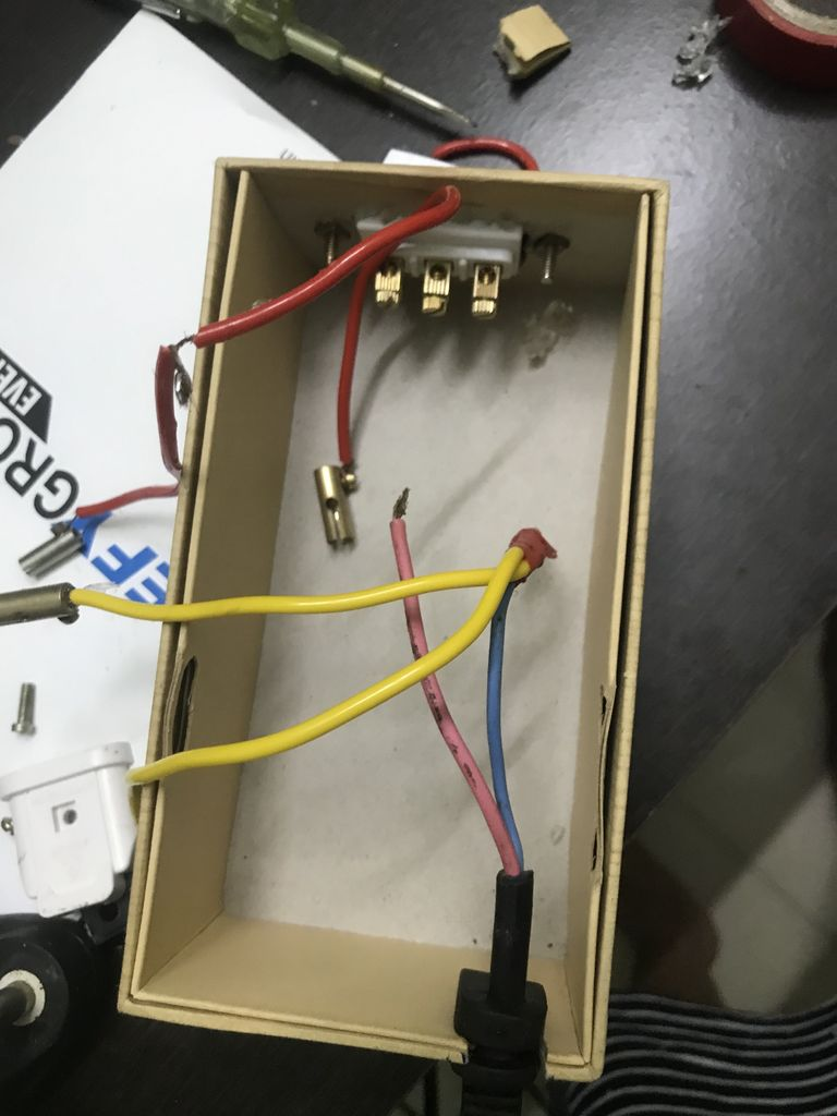 Picture of Add Manual Override Switch and Box Up the Assembly