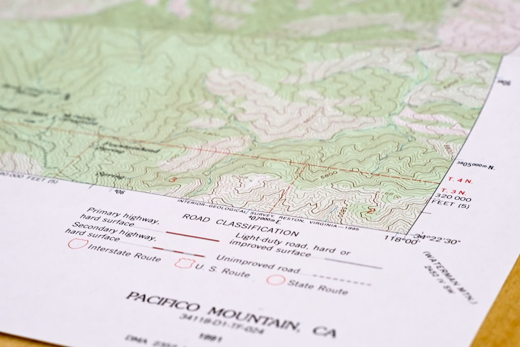 Picture of Explore: Actual Topographic Maps