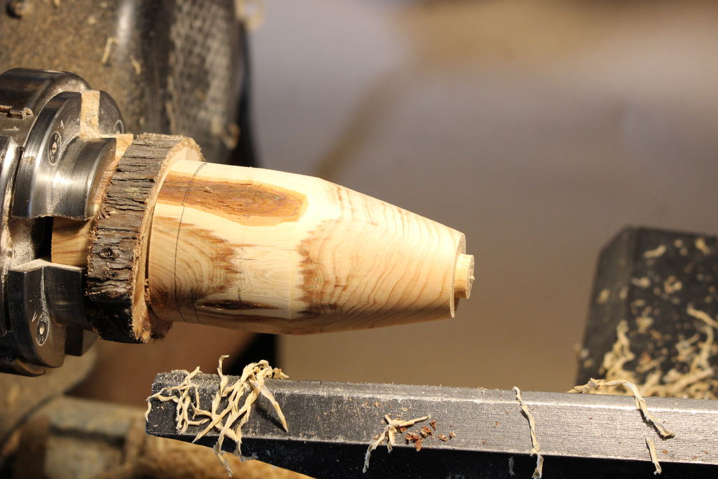 Picture of Wood Working Part: Turn the Tree