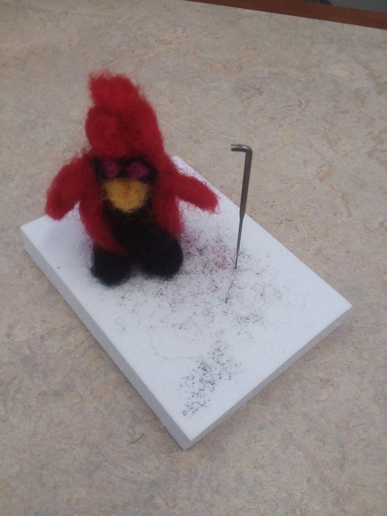 Picture of Felting a Redbird
