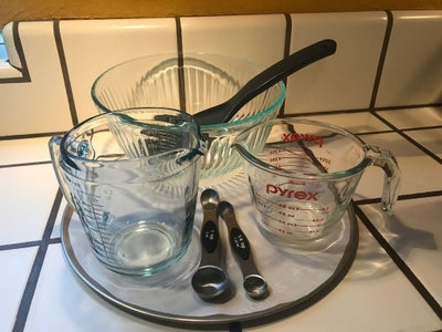 Ingredients and Kitchen Tools…