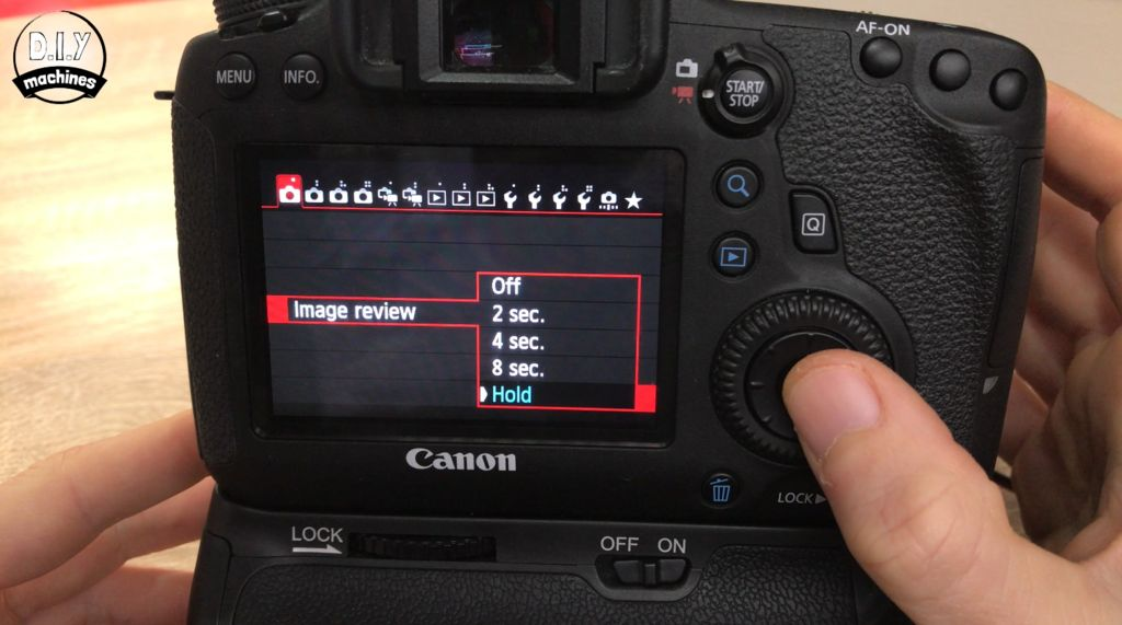 Picture of Camera Setting and Connecting