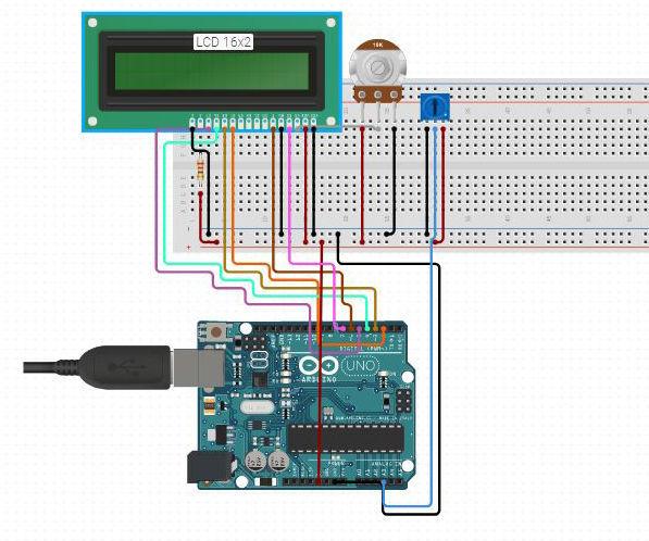 Digital Arduino Voltmeter