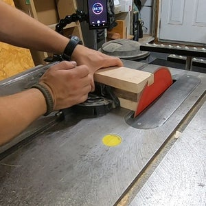 Trimming the Mallet Head