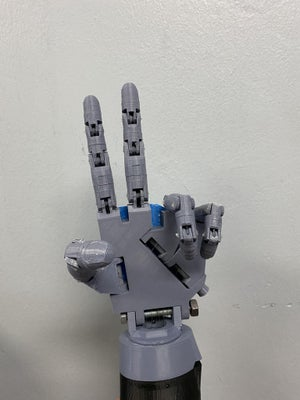 ASL Robotic Hand (Left)