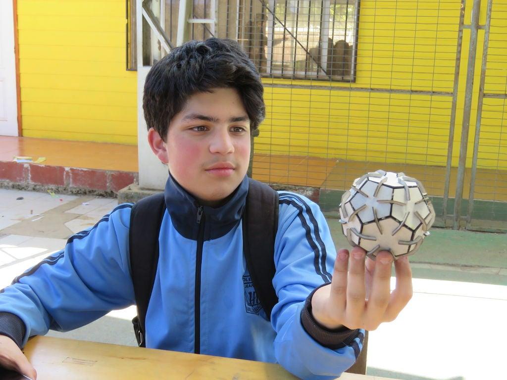 Picture of Preparación Bola Hexagonal