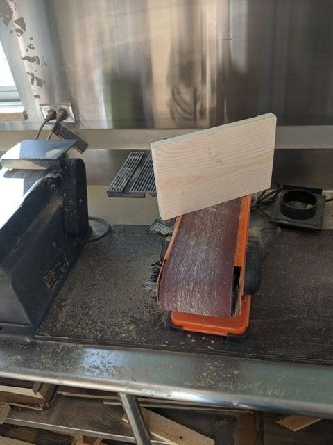 Picture of First Sanding
