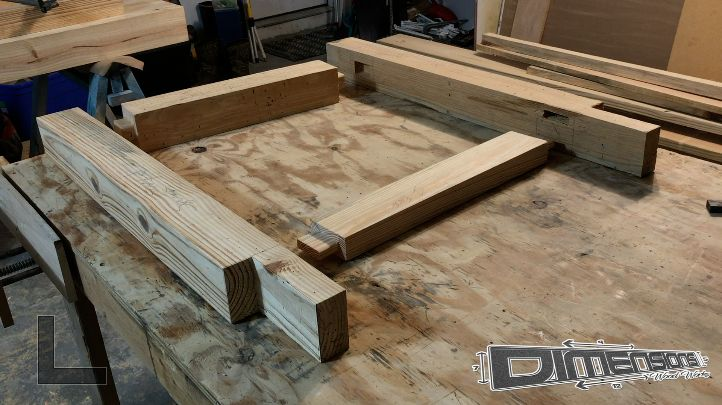 Picture of Assemble Workbench Base
