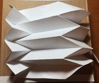 Breathing Reverse Folding Tessellation