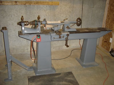 What's Old Is New - Fixing an Old Wood Lathe With a Variable Frequency Drive