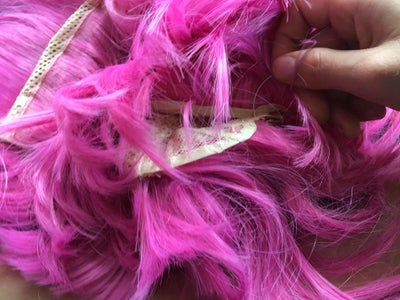 Sew the Part That Goes Onto Your Head Together