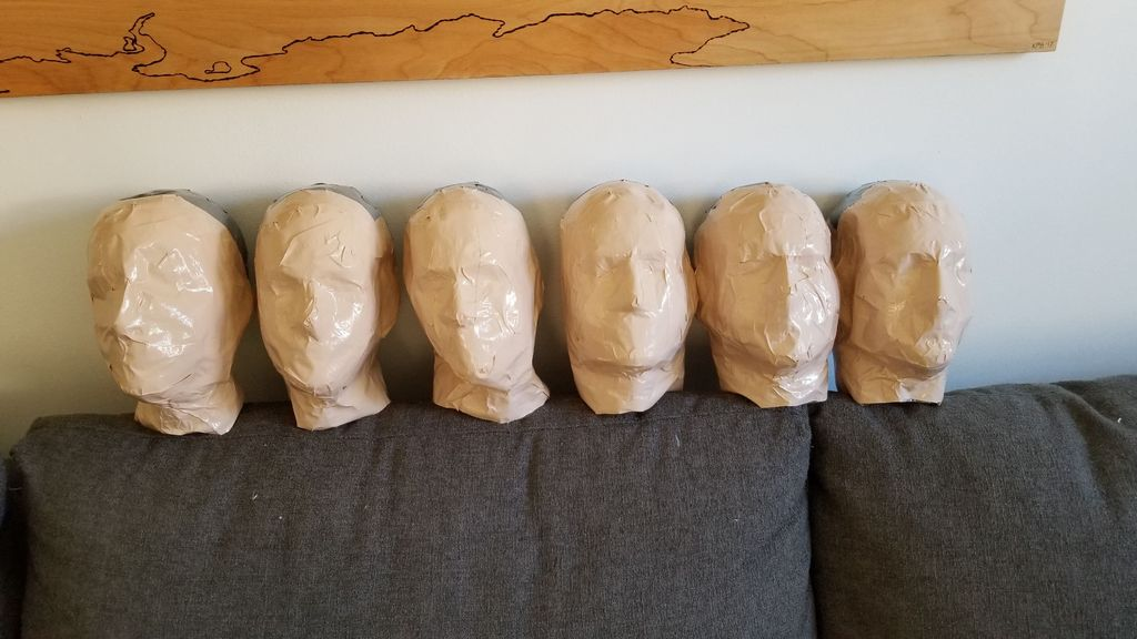 Picture of Make the Heads, Feet and Hands