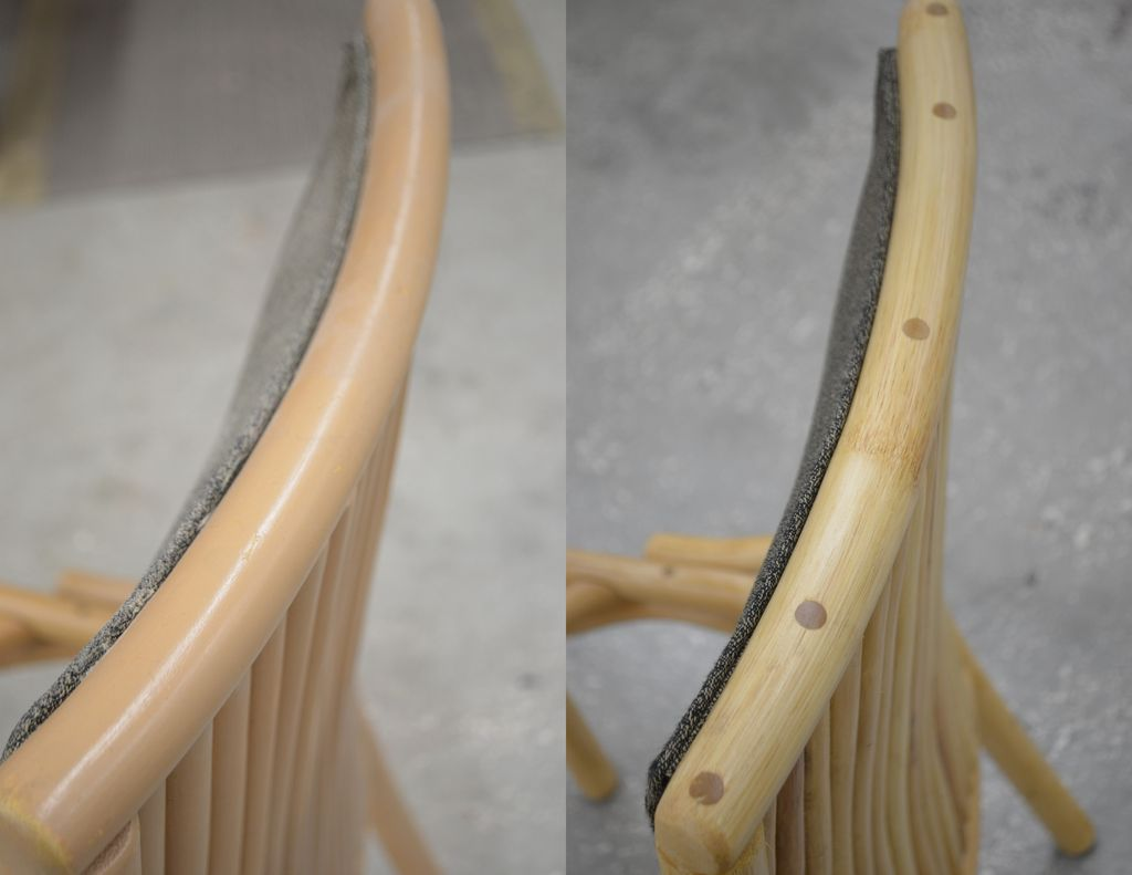 Picture of Bamboo Chair Refinsihed