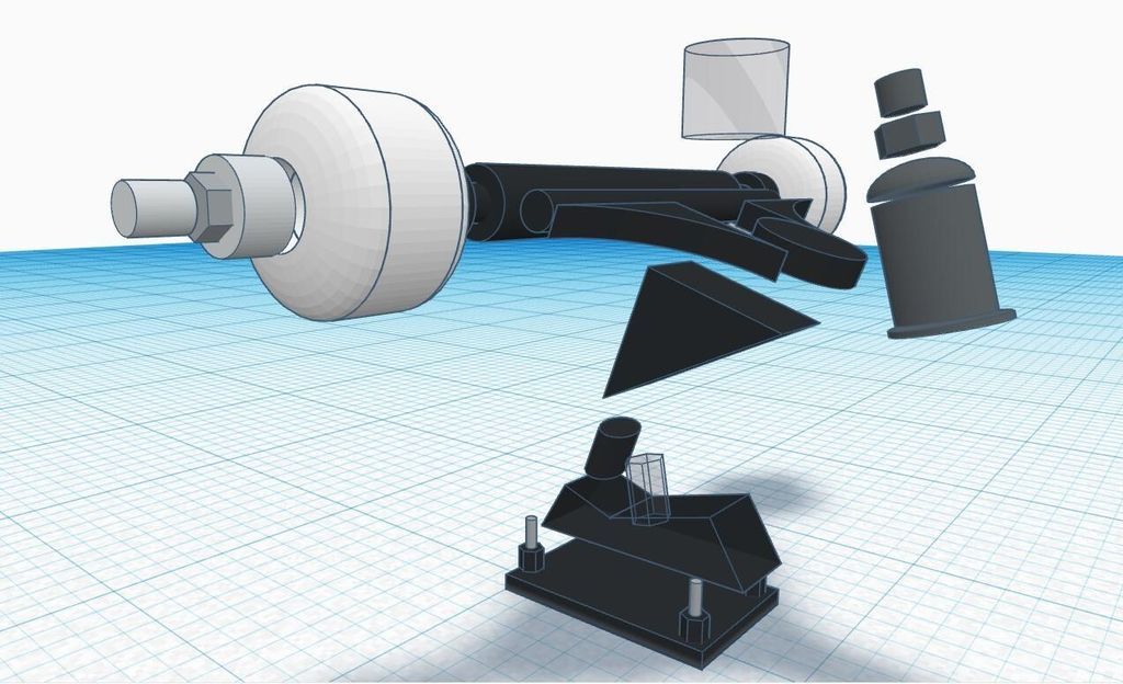 Picture of Assembly of Sliding Wheel