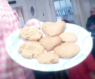 1-2-3 Peanut Butter Cookies